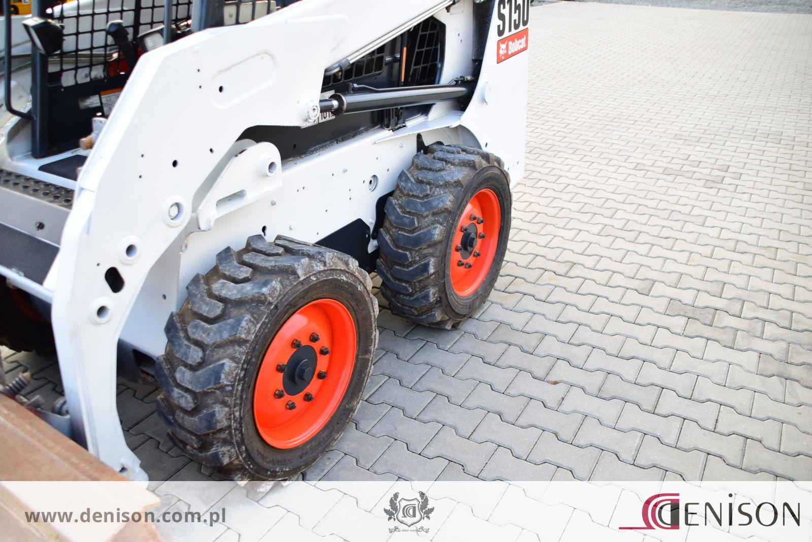 BOBCAT S150 High Flow – Sprzedaż maszyn budowlanych JCB